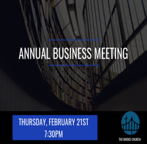 TBC Annual Business Meeting Graphic
